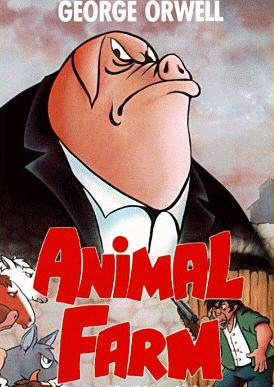 animal farm pig cover