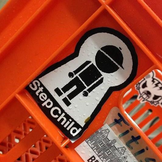 sticker step-child keyhole Amsterdam