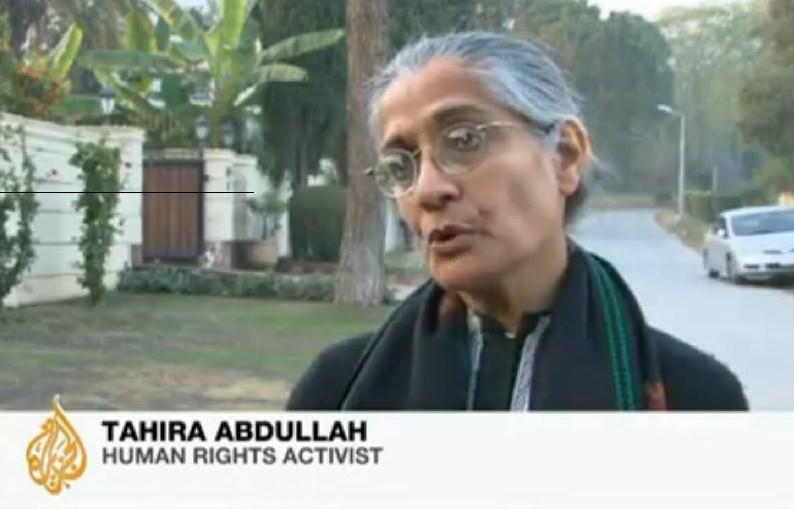 Tahira Abdullah man verbrand Pakistan