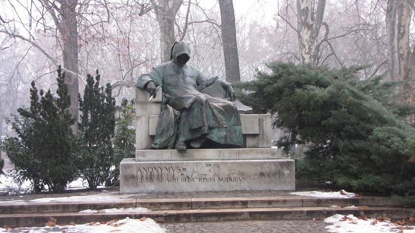 beeld Anonymus Boedapest