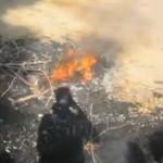 man verbrand Pakistan man burnt