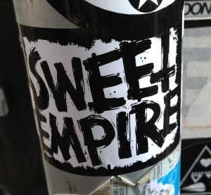 sticker sweet empire Amsterdam