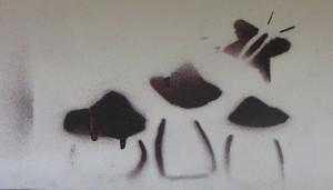 Riga paddo graffiti magic mushroom