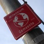 bord millennium gemeente 2000 2015 Amsterdam