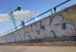 graffiti Gaos Atack near Amsterdam street art