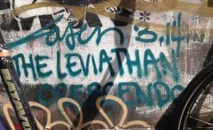 graffiti Leviathan crescendo Laser 3.14 Amsterdam 2013