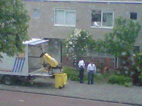 opruiming wietplantage Amsterdam Bijlmer
