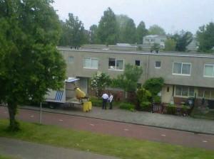 opruiming wietplantage Amsterdam zuidoost