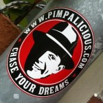 sticker Chase your dreams pimpalicious