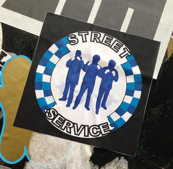 sticker Street Service Amsterdam 2013
