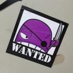 sticker Wanted Amsterdam