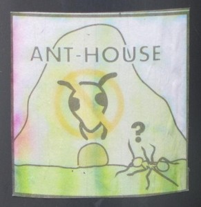 sticker ant-house mierennest Riga