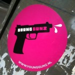 sticker young gunz Amsterdam