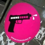 sticker young gunz Amsterdam