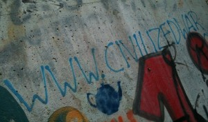 www-civilized-war graffiti