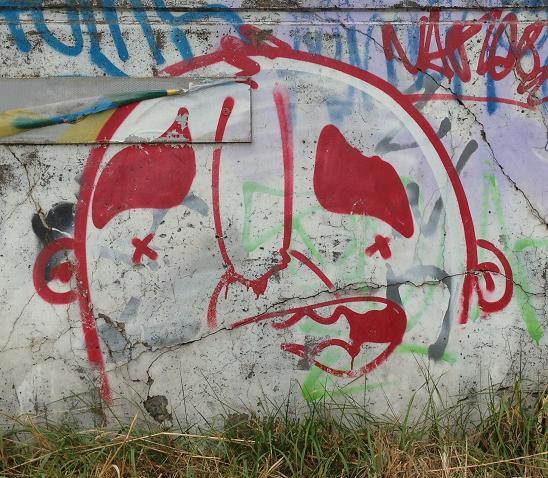 Narcoze graffiti Amsterdam 2013 September