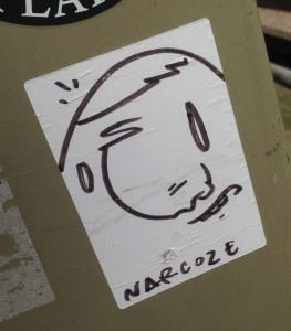 Narcoze sticker Holland Amsterdam 2015 March Ezocran