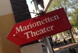 bord Marionetten theater Amsterdam