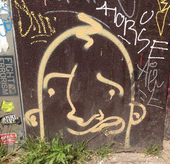 graffiti Narcoze 2014 May Amsterdam Center face
