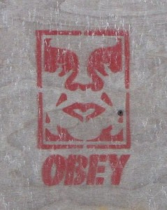 graffiti obey Baltics 2012