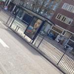 hekken Roelof Hartplein tramhalte