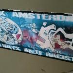 sticker Ajax Amsterdam anti racist