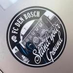 sticker FC Den Bosch stand your ground