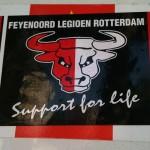 sticker Feyenoord Legioen Rotterdam support for life