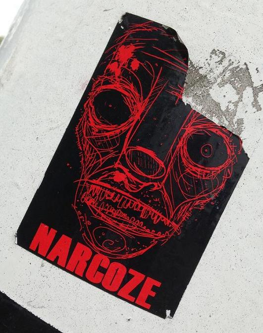 sticker Narcoze Amsterdam 2013 September