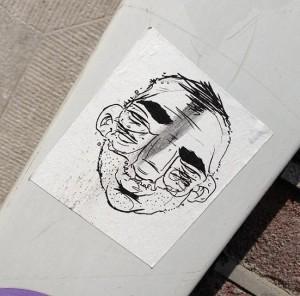 sticker Narcoze Amsterdam '4 eyes'
