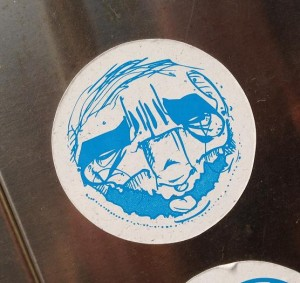 sticker Narcoze Amsterdam blue