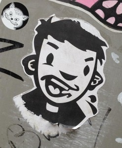 sticker Narcoze boy Amsterdam 2013