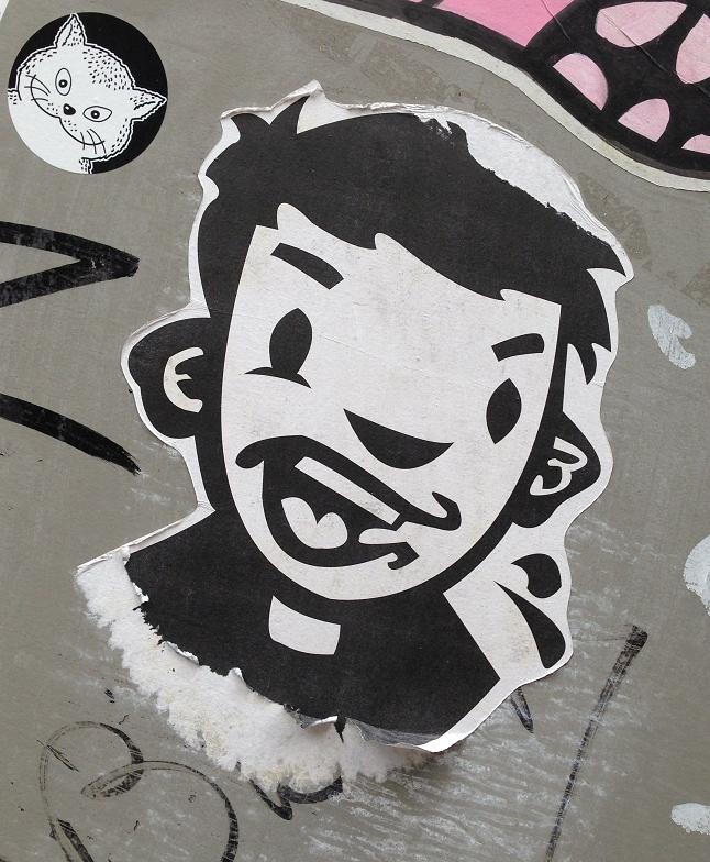 sticker Narcoze boy Amsterdam 2013