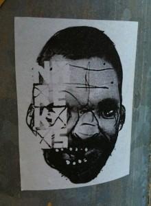 sticker Narcoze 'nare Koos' Amsterdam