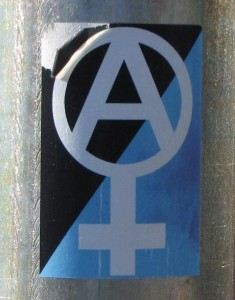sticker feminism anarchism anarchy Baltics