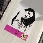 sticker get her Amsterdam Spui