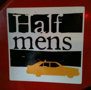 sticker half mens Amsterdam
