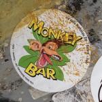 sticker monkey bar Amsterdam