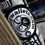 sticker monkey wallets Amsterdam