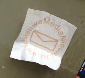 sticker nieuwe media nieuws Amsterdam art