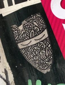 sticker niqab  Amsterdam nikaab islam