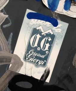 sticker original Giorgi Amsterdam 2013