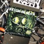 sticker reign of war Amsterdam street art