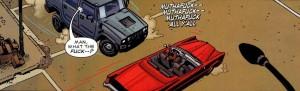 Punisher Barracuda car stop ghetto