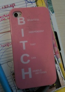 'bitch' hoes smartphone