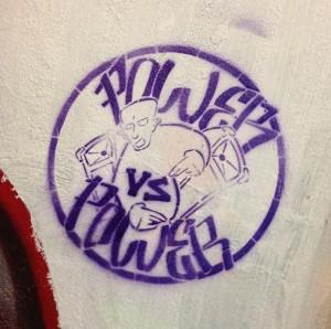 graffiti power vs power Amsterdam 2013
