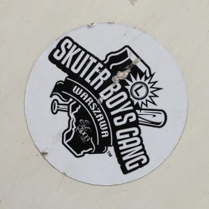 sticker Skuter Boys Gang Amsterdam 2013