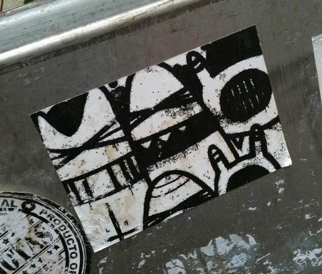 sticker boerka's Amsterdam burqa
