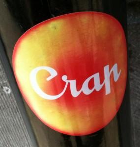 sticker crap Amsterdam