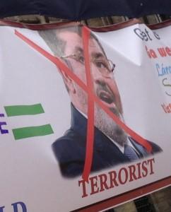 Egyptian president Morsi terrorist Amsterdam june 2013